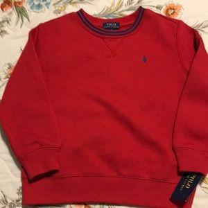 NWT boy's size 6 Polo By Ralph Lauren sweatshirt